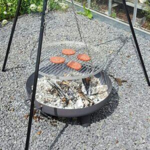 driepoot statief met grillrooster