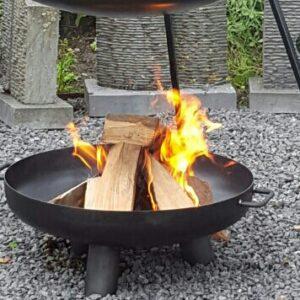 Vuurschaal kampvuur 3 poot barbeceu