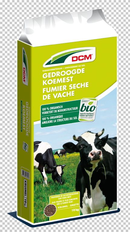 DCM gedroogde koemest 10 kg