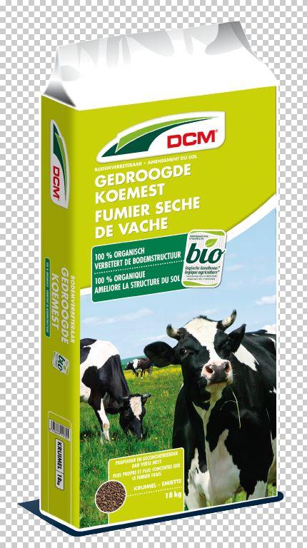 DCM gedroogde koemest 18 kg