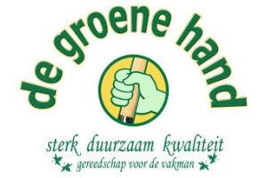 de groene hand gereedschappen