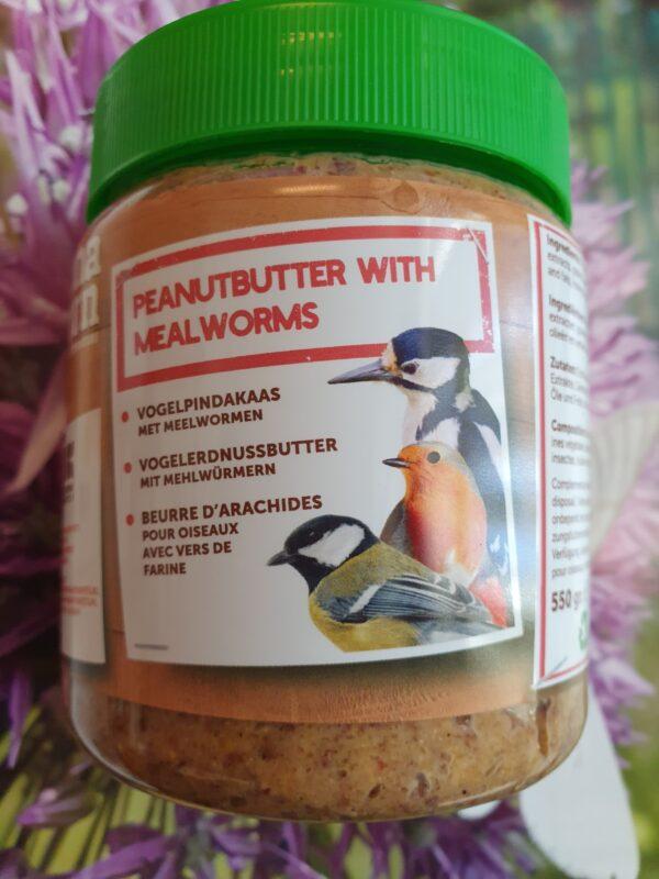 vogelpindakaas meelwormen