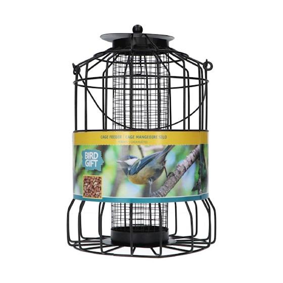 vogelvoeder silo voor pinda's