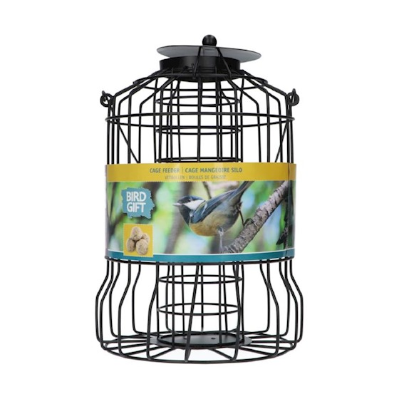 vogelvoeder silo voor vetbollen