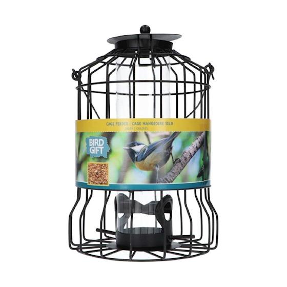 vogelvoeder silo voor zaden